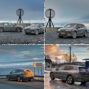 BMW iX Winter Testing